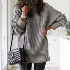 Free People Cocoa Sweater Grey XS